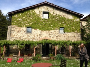 The pretty farmhouse where we stayed in Tuscany.