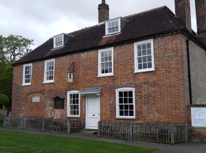 The Jane Austen House Museum, Hampshire. So much fun!