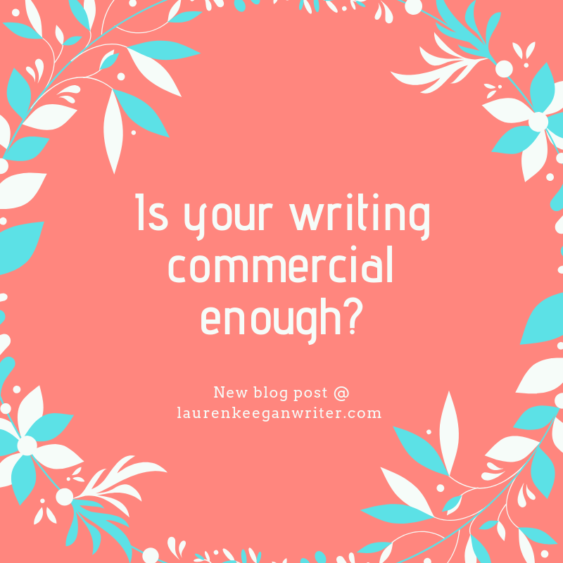 is your writing commercial enough