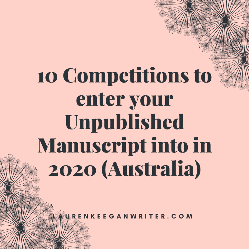 unpublished manuscript competitions